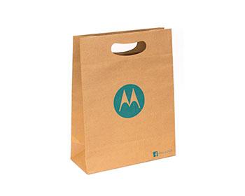 17ff5dd2f Bolsipel, bolsa de papel ecológico 100% reciclado con asa troquelada